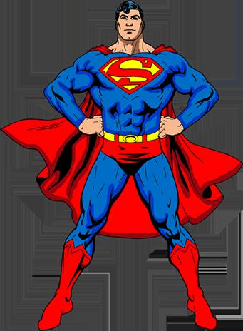 картинка шаблон супермена прием находит широкое