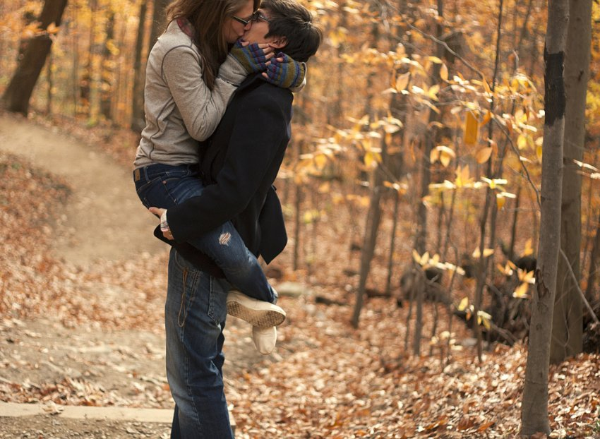 Картинки на аву осень девушка и парень