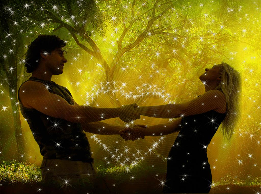 Картинки влюбленная пара с анимацией